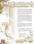 RPG Item: GM's Cookbook: Dungeon Jumpstarters #1