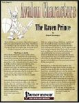 RPG Item: Avalon Characters Vol. 1, Issue #01: The Raven Prince