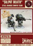 "Board Game: Dust Tactics: Steel Guard Sniper Team – ""Silent Death"""