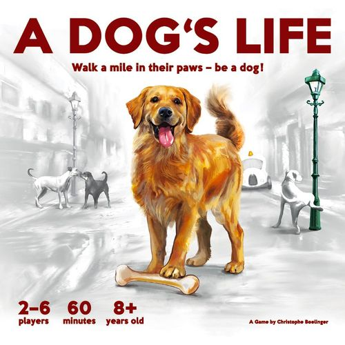Board Game: A Dog's Life