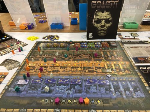 Board Game: Golem