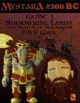 RPG Item: GazBC1: Shimmering Lands: Last Beacon of Blackmoor - DM's Guide