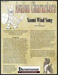 RPG Item: Avalon Characters Vol. 1, Issue #03: Naomi Wind Song