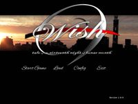 Video Game: Wish -tale of the sixteenth night of lunar month-