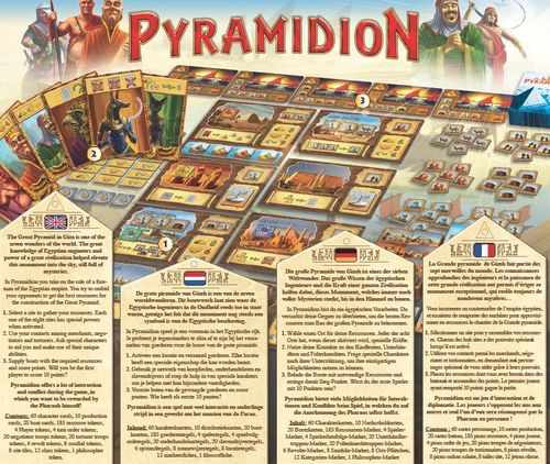 Board Game: Pyramidion