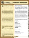 RPG Item: Zeitgeist Introduction