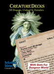 RPG Item: Creature Decks: 54 Dragons, Undead & Outsiders (Dungeon World)
