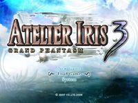 Video Game: Atelier Iris 3: Grand Phantasm