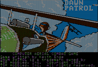 Video Game: Dawn Patrol (1982)