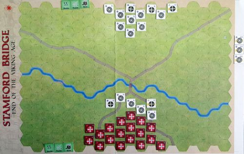 Board Game: Stamford Bridge: End of the Viking Age + A Hill Near Hastings