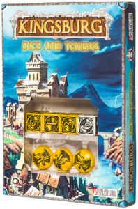 Kingsburg: Dice and Tokens (Yellow) Cover Artwork