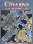 RPG Item: Caverns Dungeon Floor Plans