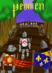 Board Game: Yeomen: The 9 Card Agincourt Game