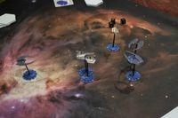Board Game: Battlestar Galactica: Starship Battles – Starter Set