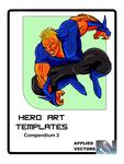 RPG Item: Hero Art Templates Compendium 2