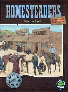 Homesteaders Cover Artwork