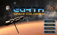 Video Game: Earth Space Colonies