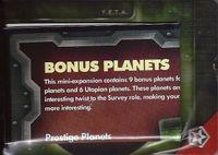 Board Game: Eminent Domain: Bonus Planets