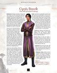 RPG Item: Adversaries of the Righteous: Cynis Borok and Regara Feria