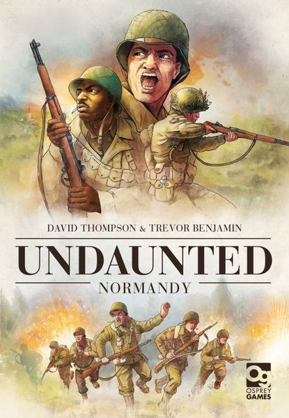 Undaunted: Normandy Cover. Artwork by Roland MacDonald