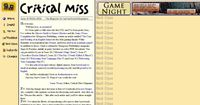 Issue: Critical Miss (Issue 10 - Winter 2006)