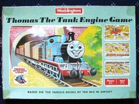 Board Game: Thomas The Tank Engine Game