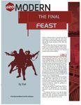 RPG Item: The Final Feast