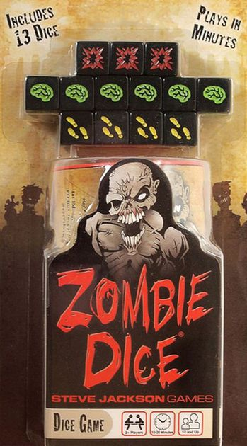 Zombie Dice Game Board Game