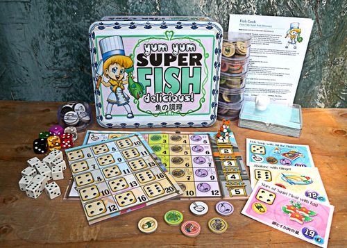 Board Game: Fish Cook