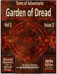 RPG Item: Tomes of Adventure Vol 1 Issue 2: Garden of Dread