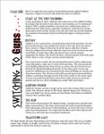 Issue: Switching to Guns (Issue XXIII - Mar 2009)