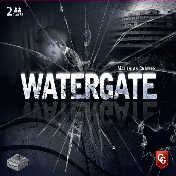 Watergate, Frosted Games/Capstone Games, 2019 — front cover