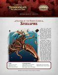 RPG Item: The Aden Gazette Issue No. 13: Islands of the Known Lands: Steelspire (Savage Worlds)