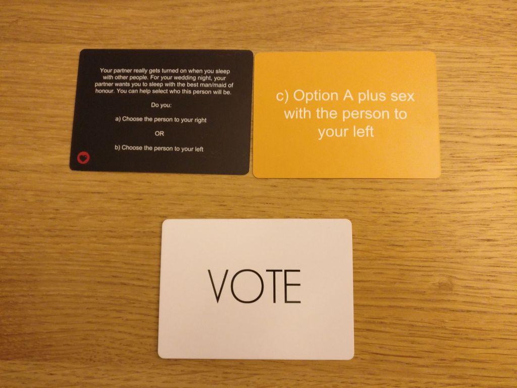 Board Game: Moral Dilemma: Option C expansion