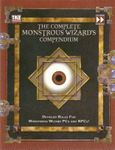 RPG Item: The Complete Monstrous Wizard's Compendium