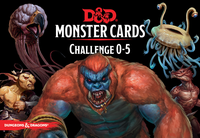 RPG Item: Monster Cards: Challenge 0–5