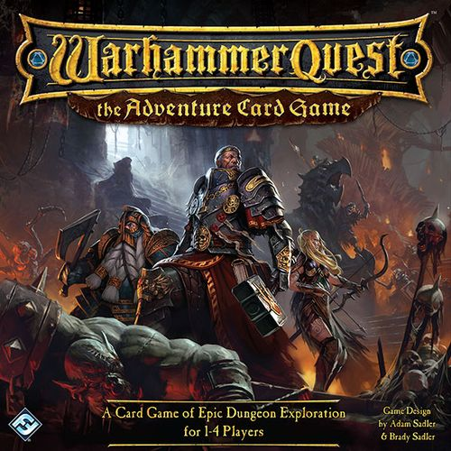 Warhammer Quest: The Adventure Card Game, Fantasy Flight Games, 2015 (image provided by the publisher)