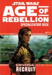RPG Item: Age of Rebellion Specialization Deck: Universal Recruit
