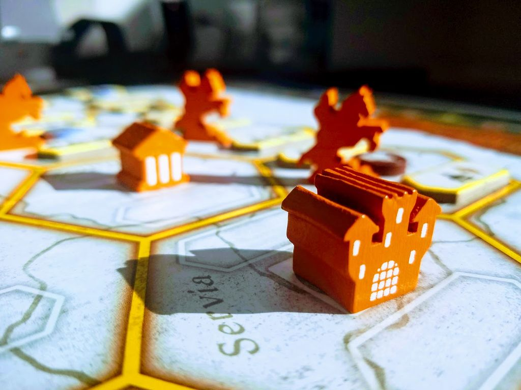 Board Game: Crusaders: Thy Will Be Done