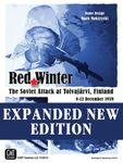 Board Game: Red Winter: The Soviet Attack at Tolvajärvi, Finland (Second Edition)