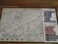 Prototype of the 4th edition. Map, counters, OOB.