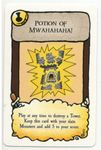 Board Game: Munchkin Panic: Potion of Mwahahaha! Promo Card