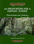 RPG Item: 100 Encounters for a Fantasy Jungle - Supplement for Zweihander RPG