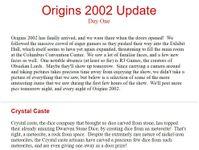 Issue: Dungeon Crawler Magazine (Origins 2002 Day 1)