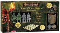 Board Game: Pirates of the Caribbean Dead Man's Chest: 3 in 1 Pirate Games Collector's Edition