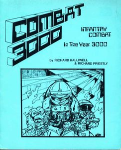 Combat 3000: Infantry Combat in the Year 3000 Cover Artwork