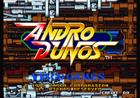 Video Game: Andro Dunos
