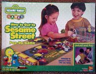 Board Game: How to Get to Sesame Street
