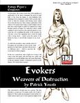 RPG Item: Evokers: Weavers of Destruction