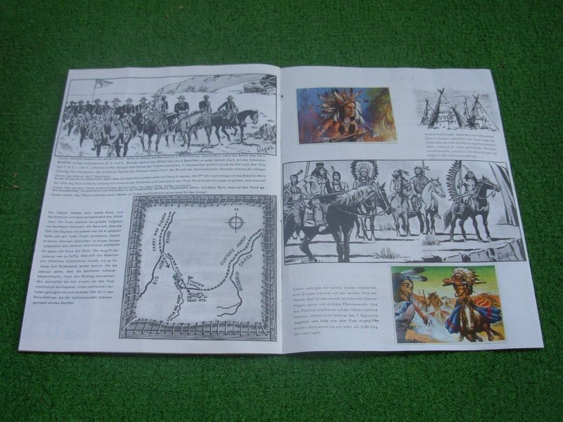inclosed booklet with historical description of the battle at Little Big Horn